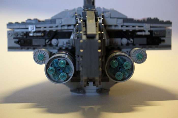 LEGO MOC - In a galaxy far, far away... - Acclamator I-class assault ship