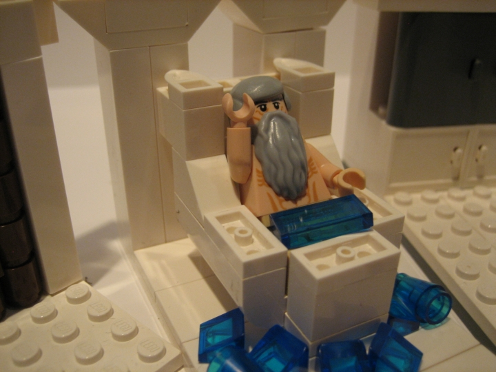 LEGO MOC - Because we can! - Archimedes: Эврика!!!!!!!!!!!!!