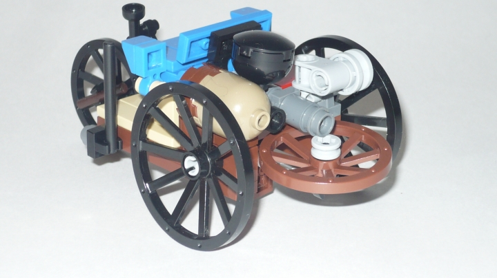 LEGO MOC - Because we can! - First Automobile