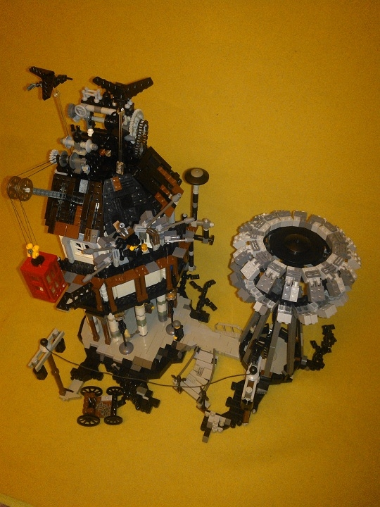 LEGO MOC - Because we can! - Wireless Electricity