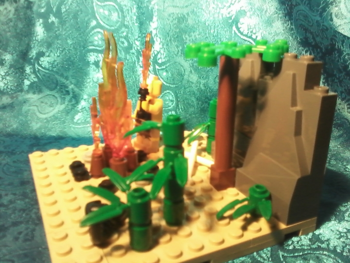 LEGO MOC - Because we can! - Fire discovery