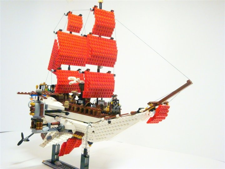 LEGO MOC - Steampunk Machine - Steampunk styled 'Scarlet Sails': Первое фото