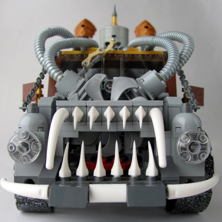 LEGO MOC - Steampunk Machine - Excalibur: <br><i>Or you can buy it, or it will follow you in your nightmares… You to choose... ;)</i><br>