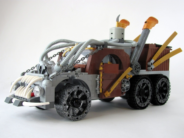 LEGO MOC - Steampunk Machine - Excalibur