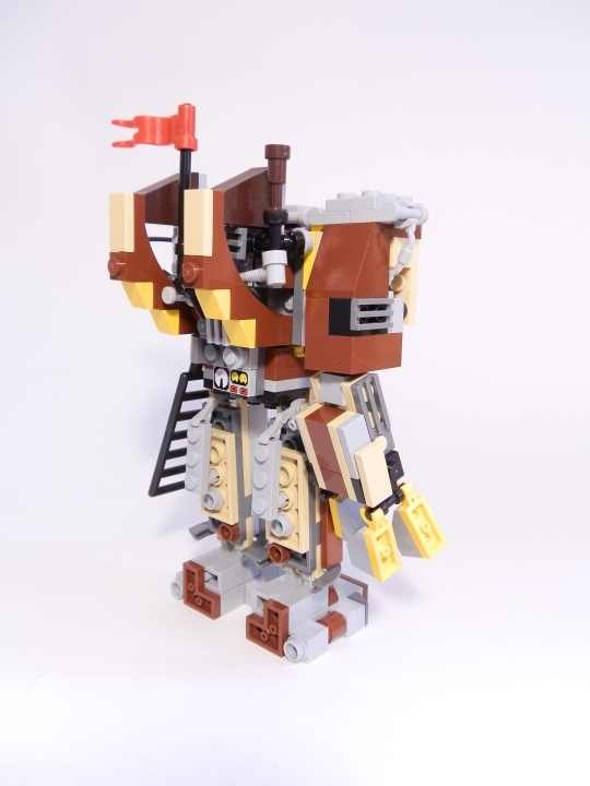 LEGO MOC - Steampunk Machine - Heavy Steam Helper 1
