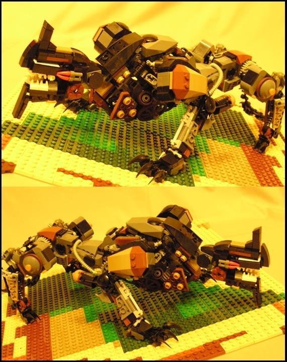 Лего монстры самоделки