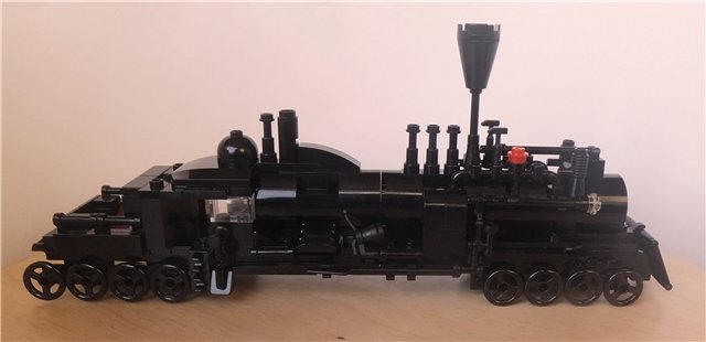 LEGO MOC - Steampunk Machine - Deserted Hybrid