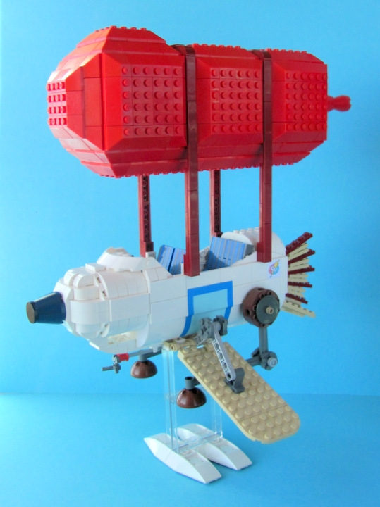LEGO MOC - Mini-contest 'Zeppelin Battle' - Rescue Rangers