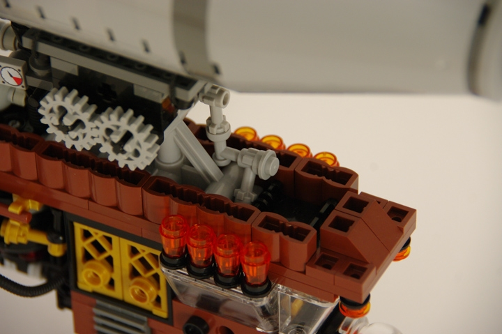 LEGO MOC - Mini-contest 'Zeppelin Battle' - Zeppelins in Hogwarts