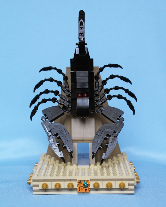LEGO MOC - 16x16: Animals - Black Emperor Scorpion