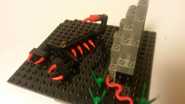 LEGO MOC - 16x16: Animals - Scorpion