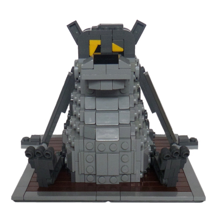 LEGO MOC - 16x16: Character - Now I Will Sing!..