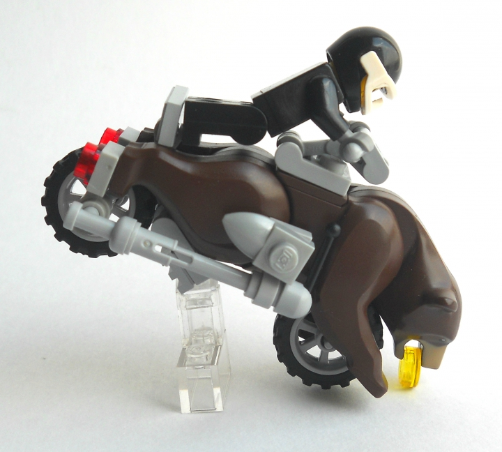LEGO MOC - Mini-contest 'Lego Technic Motorcycles' - Мотоцикл 'Гризли'