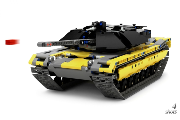 LEGO MOC - LDD-contest '20th-century military equipment‎' - M1 Abrams Tank