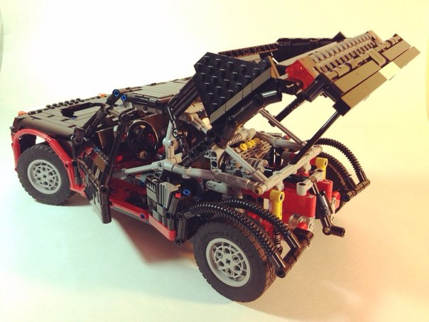LEGO MOC - Technic-contest 'Car' - peugeot 205 t16 : и на по следок)