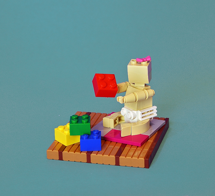 LEGO MOC - Battle of the Masters 'In cube' - I'm not a master, I'm just learning!