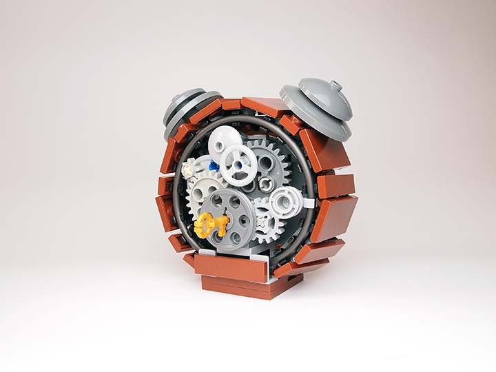 LEGO MOC - Battle of the Masters 'In cube' - Alarm clock