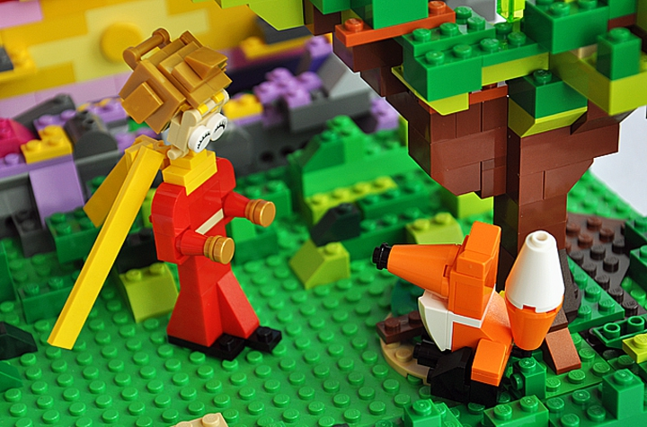 LEGO MOC - Russian Tales' Wonders - Please, tame me!