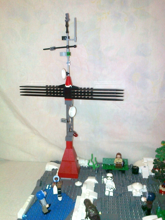 LEGO MOC - New Year's Brick 2017 - Новый год в star wars: Антенна