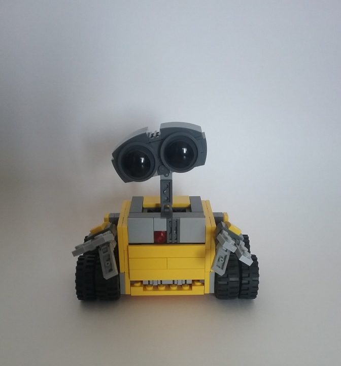 LEGO MOC - Contests of miniatures. WALL-E - WALL-E