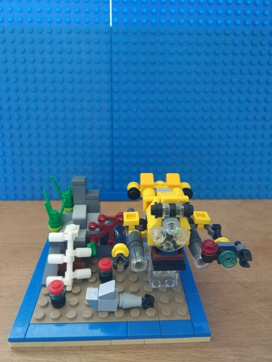 LEGO MOC - Contests of miniatures. DEEP SEA SUBMARINE - Deep Sea Submarine