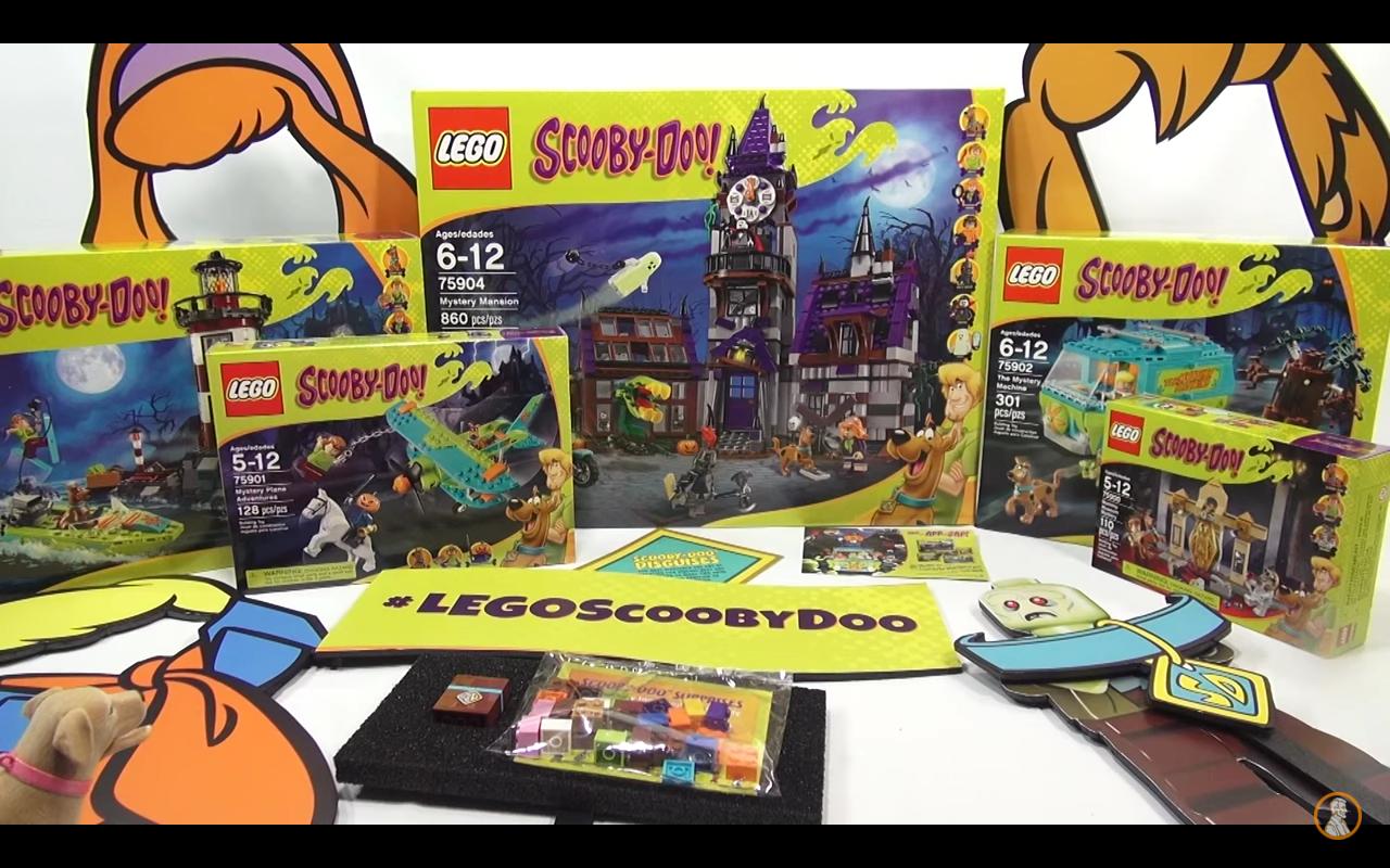Bricker Gioco Di Costruzioni Di Lego Sdik Scooby Doo Influencer Kit